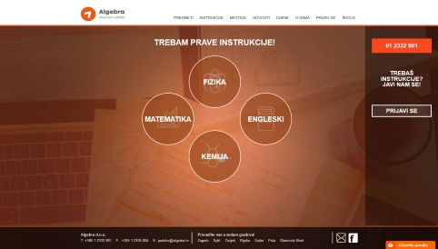 Poduke is the biggest tutoring and instructional portal for high school pupils in Croatia.